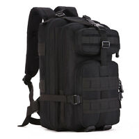 Outdoor Assault Backpack 30l-40l Nylon Camo Tactical Molle Climber 14 Laptop