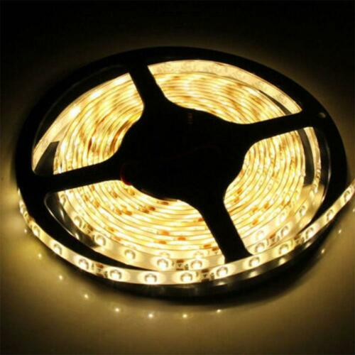 0.5//1//2//5M COLORFUL 3528 5050 SMD COOL WARM WHITE WATERPROOF LED STRIP LIGHT 5V
