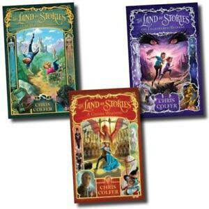 Chris-Colfer-3-Book-Set-The-Land-of-Stories-Collection-Pack-The-Wishing-Spell