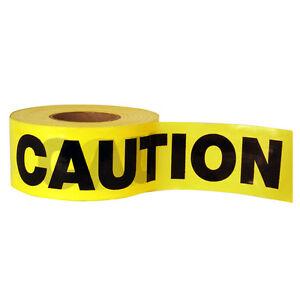 50M-CAUTION-TAPEYELLOW-PVC-ROLL-SELF-ADHESIVE-HAZARD-SAFETY-WARNING-TAPE