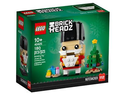 SEALED // NEW RELEASE LEGO 40425 BrickHeadz Nutcracker #112