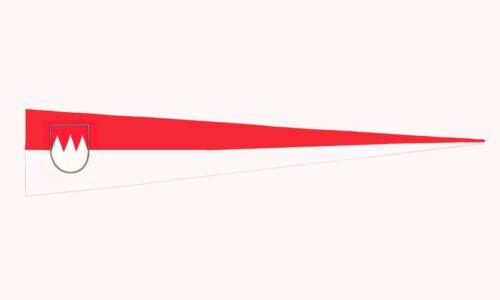 Langwimpel Fahne Flagge mit 2 Ösen 30 x 150 cm Franken