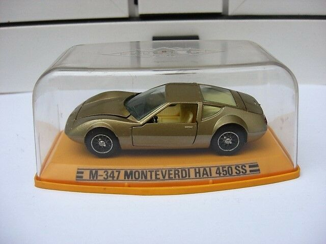 Monteverdi hai 450 ss Gold doble m547 mib 1 43 maserati ferrari ISO Beautiful