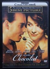 Chocolat (DVD, 2001) Juliette Binoche, Judi Dench, Johnny Depp