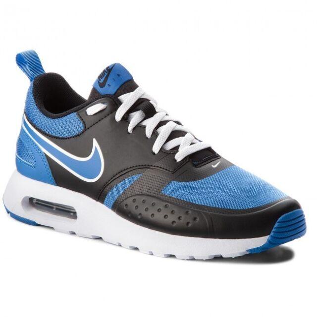 Nike MEN'S Shoe BlackWhiteBlue Air Max Vision 918230 012 Sz 8 12 NIB