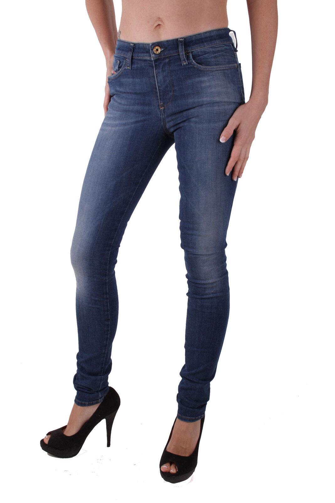 Diesel Skinzee 0826F Damen Jeans Hose Skinny