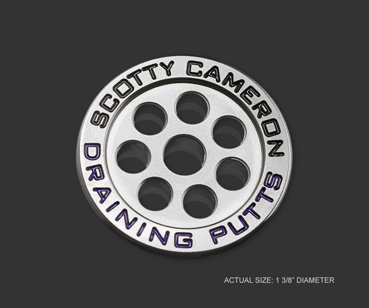 2019 Scotty Cameron Draining Putts Round Billet Ball Marker Coin