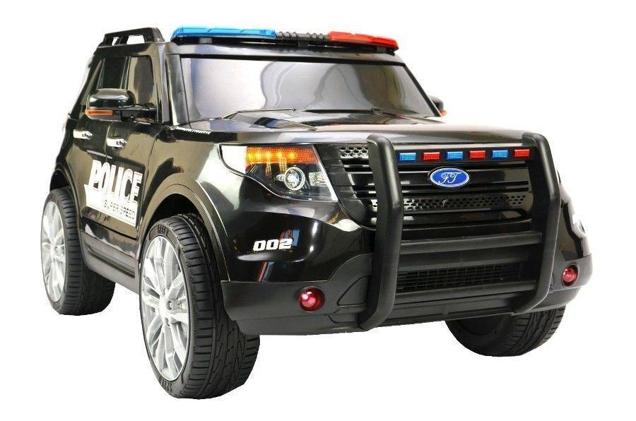 Jeep todoterreno niños policía SUV EE. UU. los niños auto eléctrico vehículo auto niños