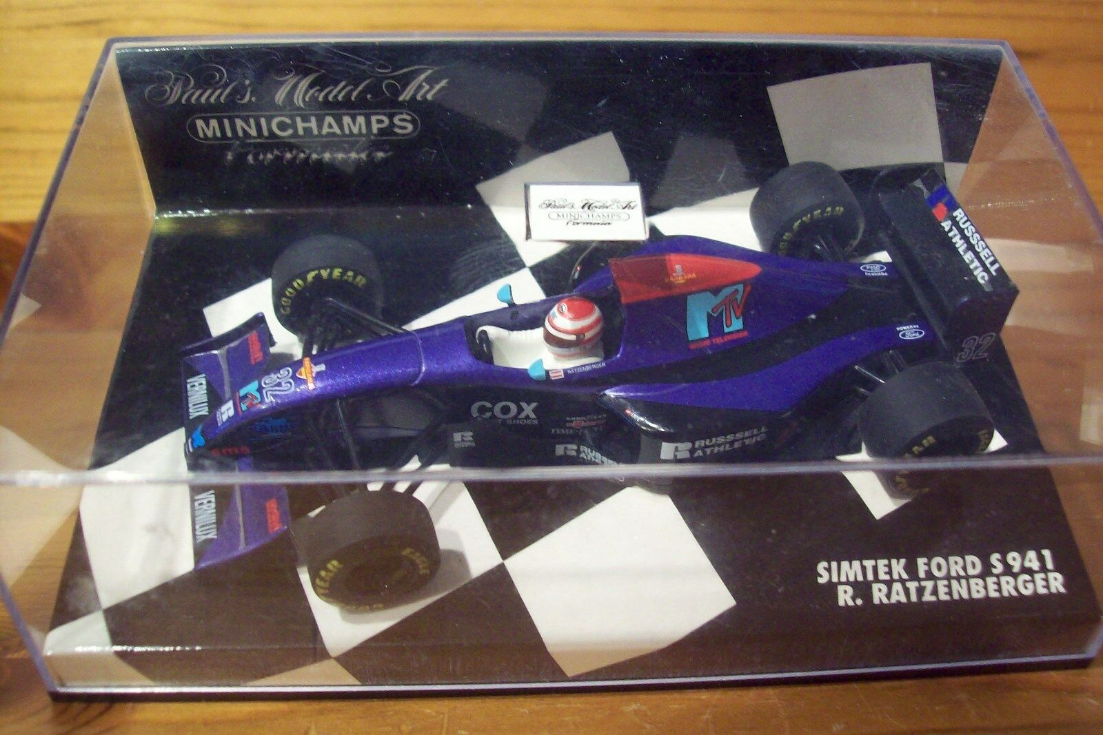 1 43 SIMTEK FORD S941 1994 ROLAND RATZENBERGER 1st VERSION