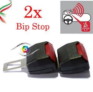 BIP STOP ALLARME CINTURE CINTURA AUTO GANCIO SICUREZZA 2 BIP STOP