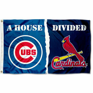 Chicago-Cubs-vs-St-Louis-Cardinals-House-Divided-Rivalry-Flag