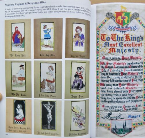 """Book /""""Stevengraphs in Colour/"""" 390 colour images in 162 pages Paperback Edition"""