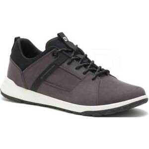 cat caterpillar code quest mod leather sneaker casual