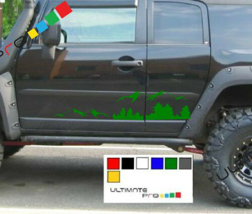 Decal sticker for Toyota land Cruiser panel grill bar Spacer shackle Suspension
