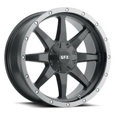 20 G Fx Tr 14 Matte Black With Grey Ring Wheel 20x9 5x55x55 12mm Trucksuv Rim Fits More Than One Vehicle