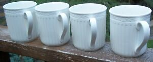 SET-OF-4-MIKASA-ITALIAN-COUNTRYSIDE-MUGS-about-10-ounce