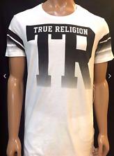Nwt! TRUE RELIGION MEN'S SHIRT FTBL TR FADING ELONGATED TEE, $68, SZ 2XL, AUTHEN