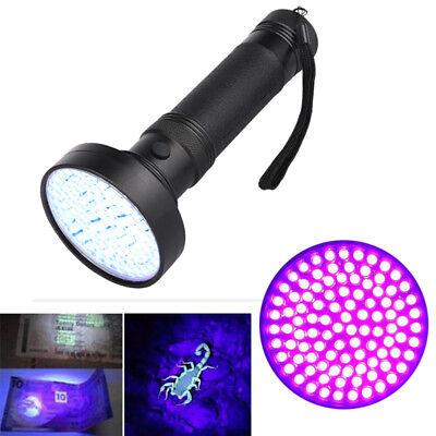 100LED UV Ultra Violet Blacklight Flashlight Torch Inspection Light Outdoor 4.5V