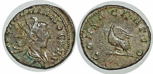 Empire Romain 257-258 Valérien Ii Consacratio Antoninien