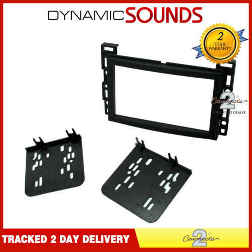 CT24CV03 Car Stereo Double Din Fascia Adaptor Black for Saturn Ion 2006-2007
