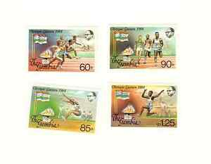 GAMBIA-1984-LA-OLYMPICS-SCOTT-039-s-525-TO-528-SG-039-s-555-TO-558-MNH-SET-FREESHIP