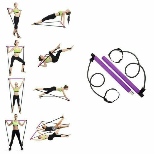 Fitness elastisches Sit Up Pull Home Gym Sport Geräte Yoga DE Rope Bauchtrainer