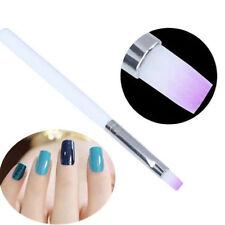 14.5cm Nail Art Liner Tips White Handled Nail Painting Drawing Pens Brush Tools