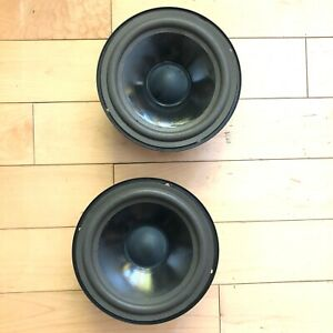 Pair-JBL-MR25-Woofer-Midrange-P205G-Newly-Refoamed-pair-made-In-USA