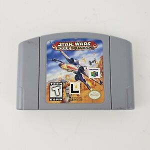 Star Wars Rogue Squadron (N64 Nintendo 64, 1998) Tested Cartridge only Authentic