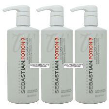 "Sebastian Potion 9 Styling Treatment 16.9 fl. oz. / 500 ml ""Pack of 3"""