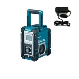 makita baustellenradio dmr108 bluetooth usb aux in radio nachf von dmr106 ebay. Black Bedroom Furniture Sets. Home Design Ideas