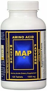 MAP Master Amino Acid Pattern 1000mg 120 Tablets on bodily acids, carboxylic acids, common organic acids, haloacetic acids, names of acids, types of acids, natural acids, examples of acids, value of pka table acids, household acids, naming acids, pka values of organic acids,
