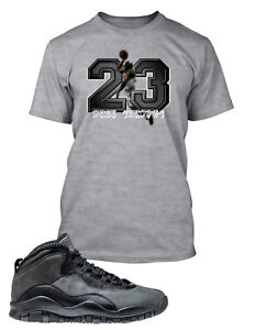 Tee-Shirt-to-Match-Air-Jordan-10-Dark-Shadows-Shoe-Mens-Pro-Club-Big-Tall-Small