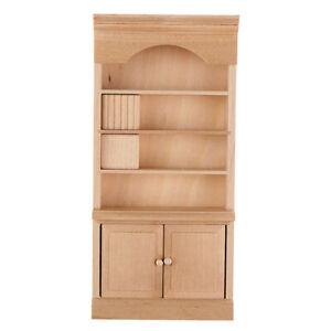 1-12-Dollhouse-Miniature-Wooden-Bookshelf-Cabinet-Model-Furniture-Accessories-YK