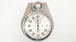 Tolle-Stoppuhr-Agat-1-Knoepfe-Taschen-Chronometer-Russische-Sowjetisch-USSR-Box