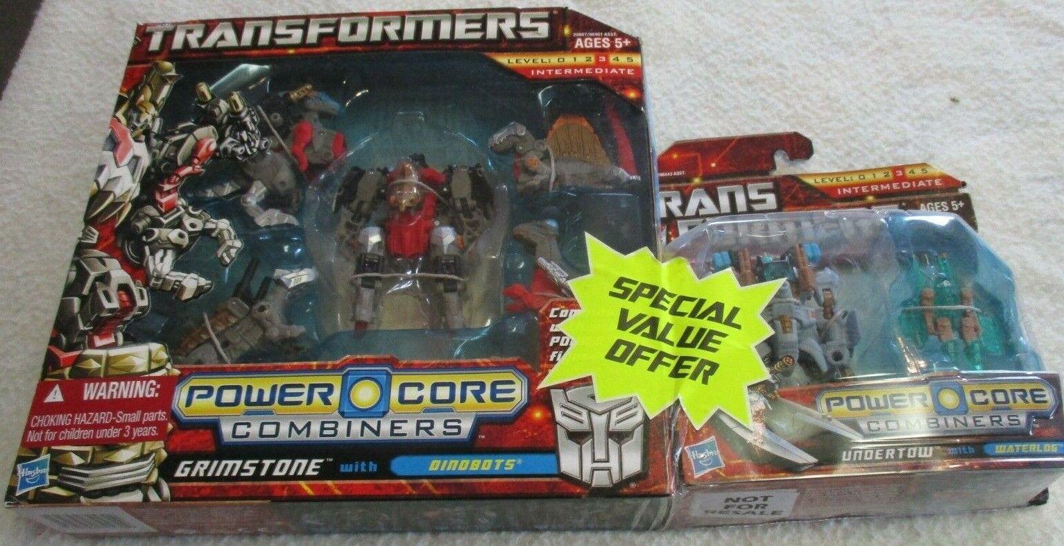 Transformers Power Core coupleurs Grimstone valeur Spéciale Offre avec courant de fond 2010