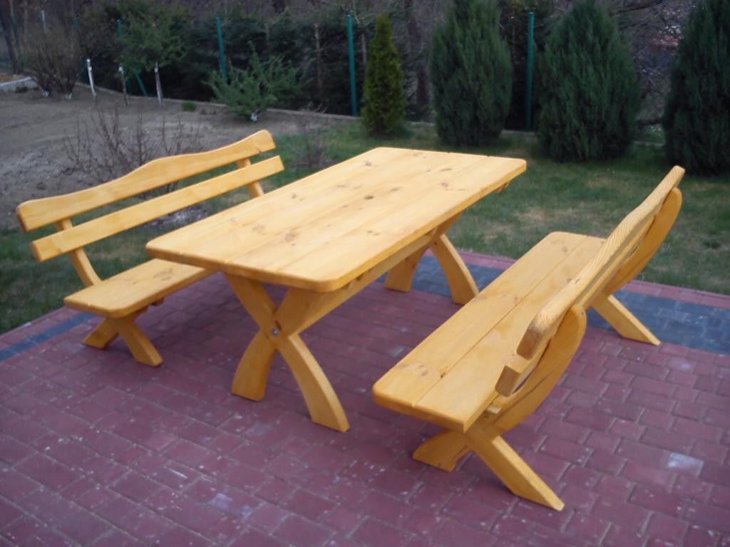 Sitzgruppe Gartenmöbel Massivholz Terrassenmöbel Sitzgarnitur Sitzgarnitur Sitzgarnitur Kiefer XL df41c6