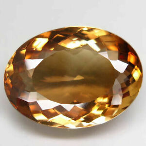 16.90 Carats NATURAL Imperial TOPAZ for Setting 19.5x14.2x7.6 UNHEATED Oval IF