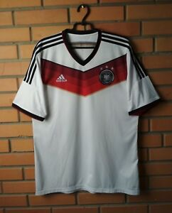 Germany Soccer Jersey Football Shirt World Cup Home Size XL Adidas ... a77b01def