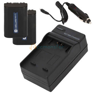 2-Battery-Charger-for-SONY-Handycam-NP-FV50-NP-FV40-NP-FV70-NP-FV100