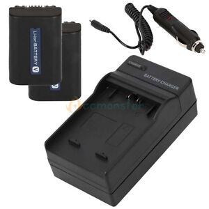 2PCS-Battery-Charger-for-SONY-Handycam-NP-FV50-NP-FV40-NP-FV70-NP-FV100