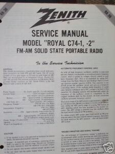 Zenith Tr Tor Radio Service Manuals. Manual Ra 36 Ebay Rh 1960s Zenith Radios Schematic 1950s. Wiring. Zenith Tube Radio Schematics 1938 At Scoala.co