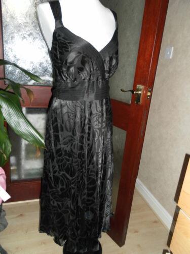 Black 16 Rrp Monsone Bnwt Eu44 Silk Stordimento rosie Devorelbd £ Dress 95 8IICFYwq