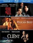 Time to Kill / Pelican Brief / The Client - 3 Disc Set (2014 Blu-ray New)