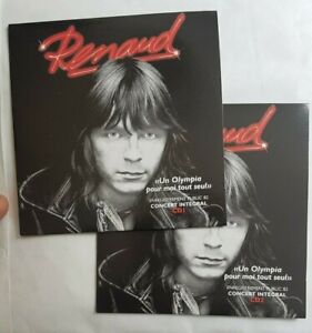 RENAUD 82 ♦ 2 x CD album neuf petit prix ♦ UN OLYMPIA POUR MOI TOUT SEUL (19 T.)