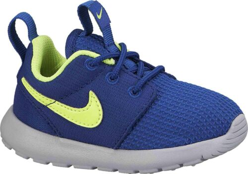 Blue Boys Kids Children/'s Nike Roshe Run Trainers Sneakers Shoes