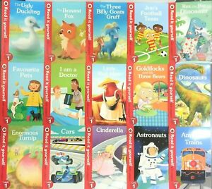 Read-it-Yourself-with-Ladybird-Level-1-15-Books-Collection-Brand-New