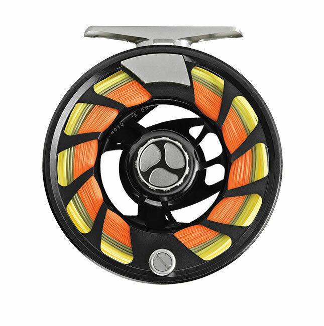 Orvis Mirage Luz III (5-7 Wt) Cocherete de Color negro medianoche