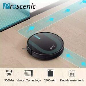 Proscenic 850T Alexa Robot Aspirapolvere Lavapavimenti Serbatoio Acqua Elettrico