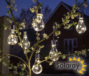 Hanging Solar Bulb Garden Lights Light Bulb Decorative